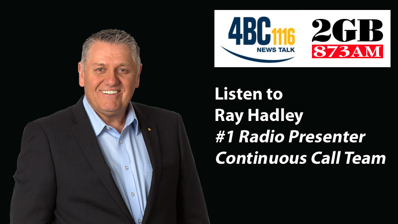 Listen to Ray Hadley