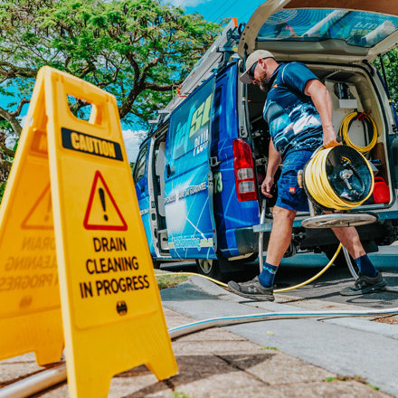 Jetset Plumbing clears out Blocked Drains